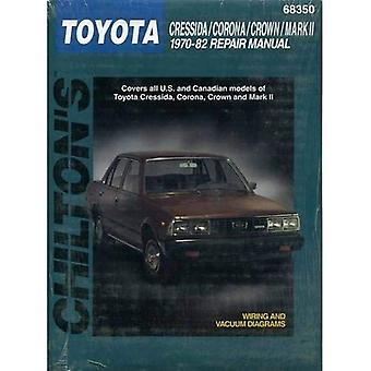 Toyota Cressida, Corona, Crown, and Mark II, 1970-82