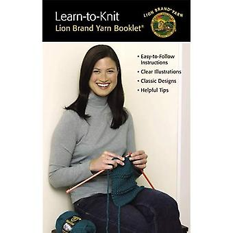 Learn to Knit (Leisure Arts #122363)