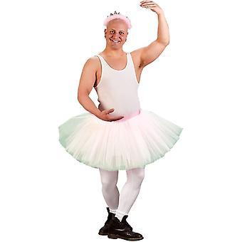 Mr Ballerina Adult Costume White