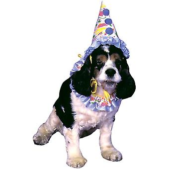 Clown Pet Costume - Funny Suit for Dog