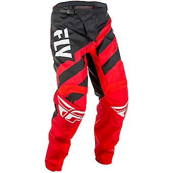 Fly Racing Red-Black 2018 F-16 Kids MX Pant