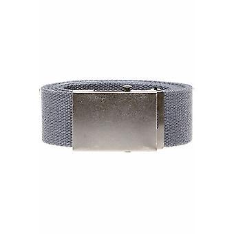 D555 King Size Charcoal Webbing Belt