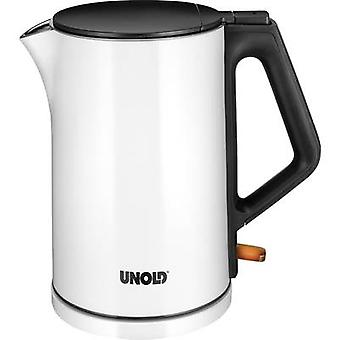 Unold Kettle inalámbrico blanco (brillante), negro