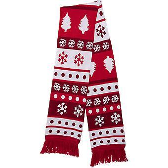 Urban Classics Unisex Winterschal Christmas