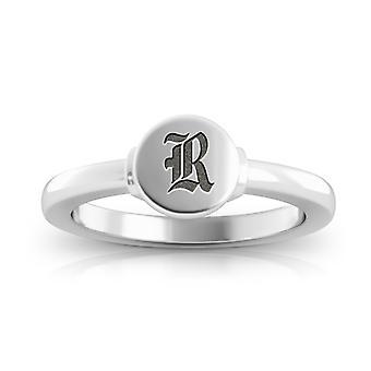 Rice University Owls Logo Engraved Signet Ring