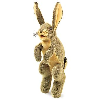 Hand Puppet - Folkmanis - Rabbit Jack New Animals Soft Doll Plush Toys 2429
