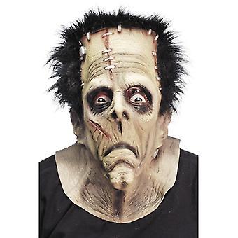 Mask monster over head LaTeX