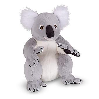 Melissa & Doug 18806 levensechte pluche Koala gevulde dieren speelgoed