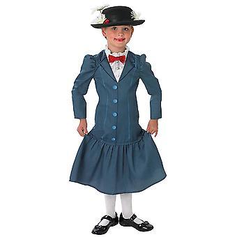 Mary Poppins klassisk Deluxe Disney film historie bok uke barn jenter drakt