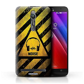 STUFF4 Case/Cover for Asus Zenfone 2 ZE550ML/Noise/Music/Hazard Warning Signs