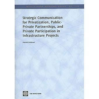 Strategisk kommunikation för privatiserings-, offentlig-privata partnerskap och privat deltagande i infrastrukturprojekt