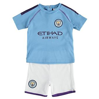 Manchester City Baby/Toddler T-shirt & Shorts Set | 2019/20 Season