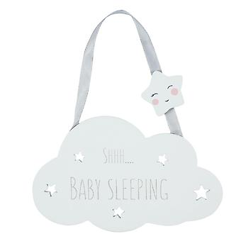 Something Different Shhh Baby Sleeping Hanging Decoration
