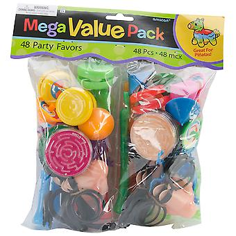 Pinata Favor Pack 48/Pkg-Assorted 39202