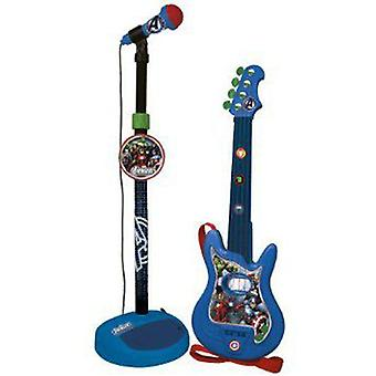 Reig Set Chitarra E Micro The Avengers