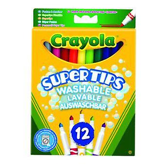 Crayola 12 Washable Super Tips