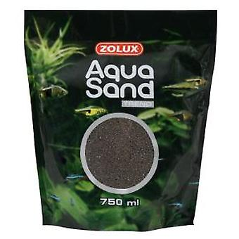 Zolux Aquasand Brown Caviar for Aquariums (Fische , Aquariumsdeko , Kies und sand)