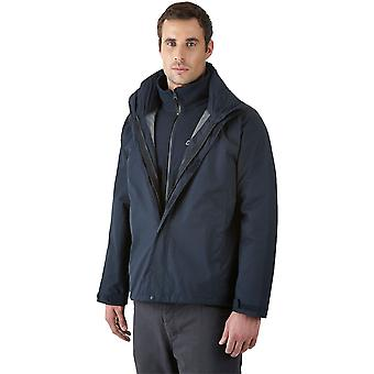 Berghaus RG Alpha 3in1 Mens Waterproof Jacket Dark Blue (Small)
