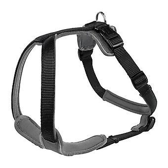 Imbracatura di Nylon neoprene cacciatore nero/grigio 15 mm X 38-48cm