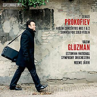 Prokofiev / Gluzman / Jarvi - Prokofiev: Violin Concertos; Nos. 1 & 2 [SACD] USA import
