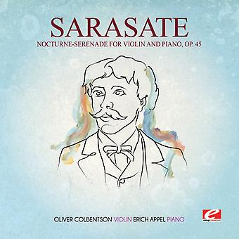 Sarasate - Nocturne-Serenade for Violin & Piano 45 USA import