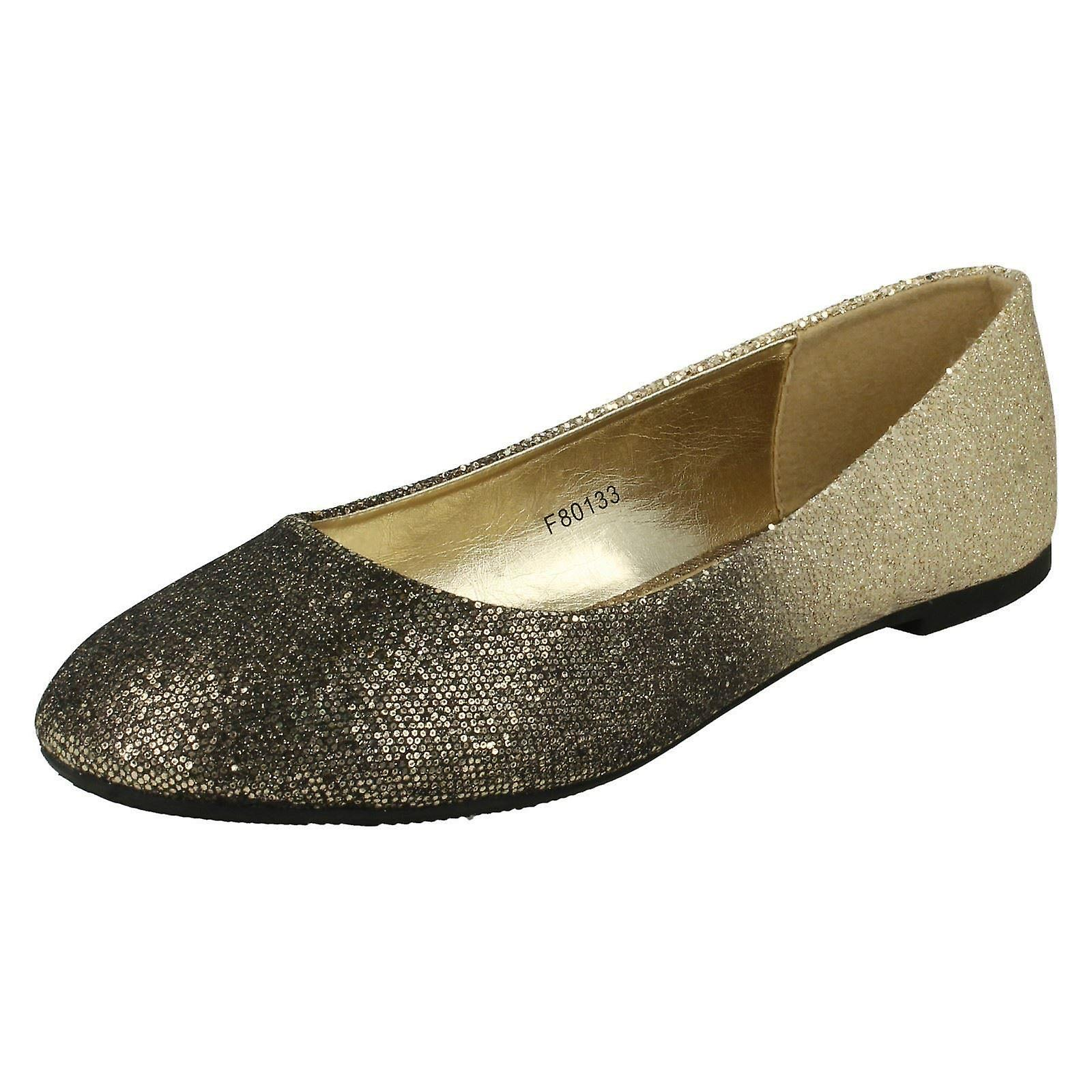 Ladies Spot On Slip On Ballerina Ballerina Ballerina Shoes F80133 91677d