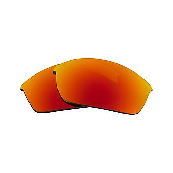 New SEEK Replacement Lenses for Oakley FLAK JACKET Radiant Yellow Mirror