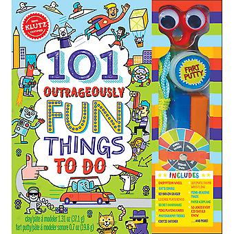 101 Outrageously Fun Things To Do Kit-  K810640