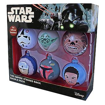 Official Star Wars The Empire Strikes Back Bauble Pack