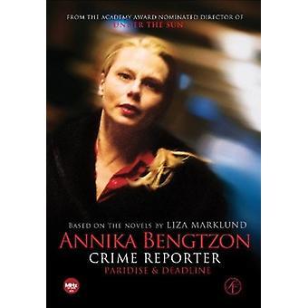 Annika Bengtzon kriminalitet Reporter: Episoder 7 & 8 [DVD] USA importerer