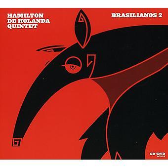 Hamilton De Holanda kvintet - Brasilianos 2 [CD] USA importerer