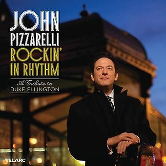 John Pizzarelli - Rockin ' i rytm: Hertig Ellington Tribute [CD] USA import