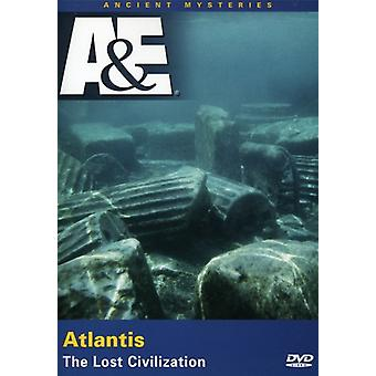 Atlantis: Lost Civilization [DVD] USA import