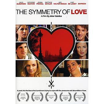 Symmetri af kærlighed [DVD] USA importerer