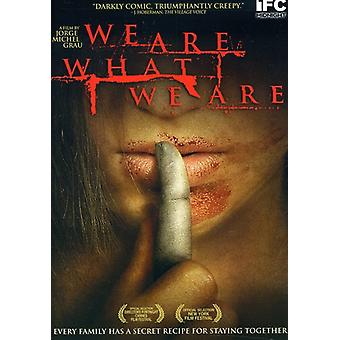 We Are What We Are [DVD] USA import