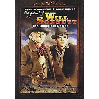 Kanoner af Will Sonnett: komplet serie [DVD] USA import