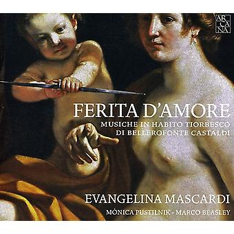 B. Castaldi - Castaldi: Ferita D'Amore [CD] USA import