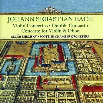 J.S. Bach - Bach: Violin Concertos; Double Concerto; Concerto for Violin & Oboe [CD] USA import