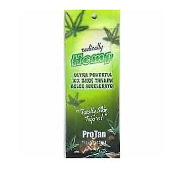 Pro Tan Radically Hemp® Ultra Powerful 10X Dark Tanning Gelee Accelerator