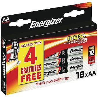 Energizer Alkaline Battery AA Max-Blíster (DIY , Electricity)