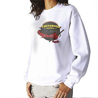 Tartaruga Brothers Teenage Mutant Ninja Turtles Raphael Women's Sweatshirt