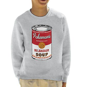 Pokemon Pop suppe kan gress Edition barneklubb Sweatshirt