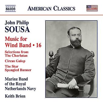 Sousa / Brion - John Philip Sousa: Music for Wind Band V16 [CD] USA import