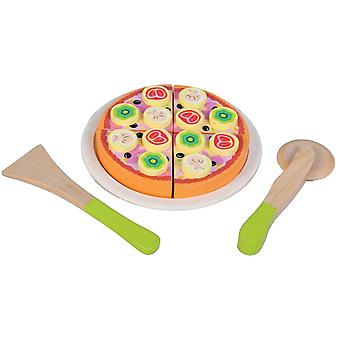 Snijset New Classic Toys Pizza Funghi 16x16x3 cm