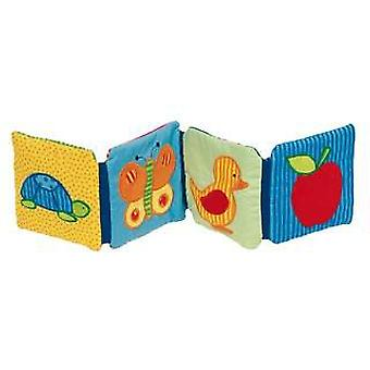 Goki Picture book with rattle, squeaker and crackling foil