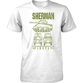 Sherman Firefly - British WW2 Battle Tank - Kids T Shirt