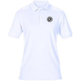 Legione straniera francese 2 ° Reggimento Paarchute - Logo - ricamato camicia di Polo