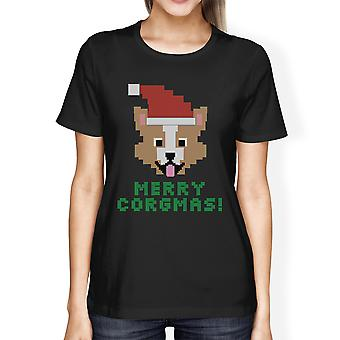 Merry Corgmas Corgi T-Shirt For Womens Christmas Gift Dog Mom Gifts