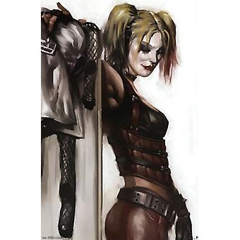 Harley Quinn Poster Plakat-Druck