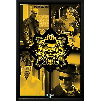 Breaking Bad - Quad Poster Poster Print